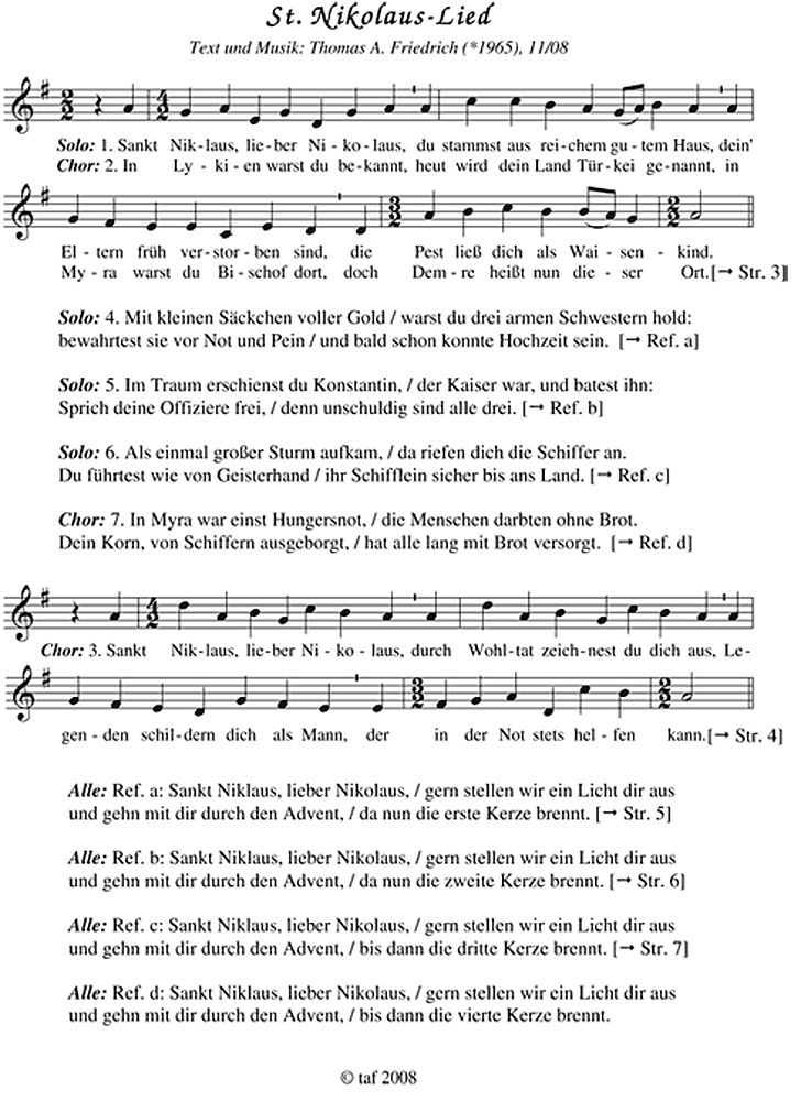 geschichten und lieder vom schenken: